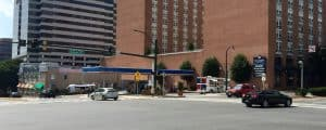 Hotel, retail planned for 8600 Georgia Avenue - A preliminary plan application has been submitted to the Montgomery County Planning Board for a 173-room hotel with about 4,200 square feet of ground-level retail at 8600 Georgia Ave., the corner of Georgia and Colesville Road currently occupied by a gas station.