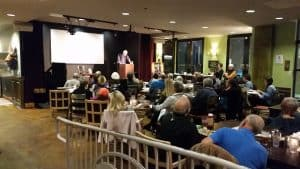 Book talks at Busboys and Poets@Takoma - Busboys and Poets@Takoma wears many hats—restaurant/café/bar/event space/bookstore/spoken word/performance venue.