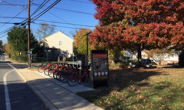 New bike share on Sligo Avenue