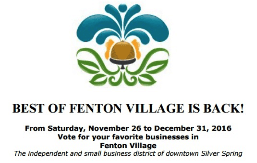 Vote for your favorites in Best of Fenton Village