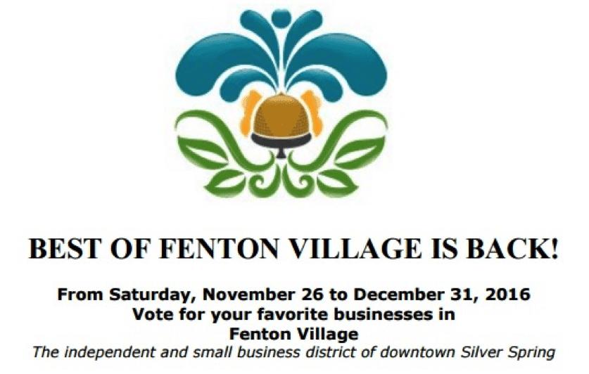 Vote for your favorites in Best of Fenton Village