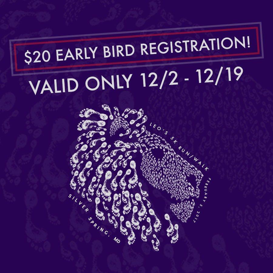 Leo's Run - $20 Early Registration