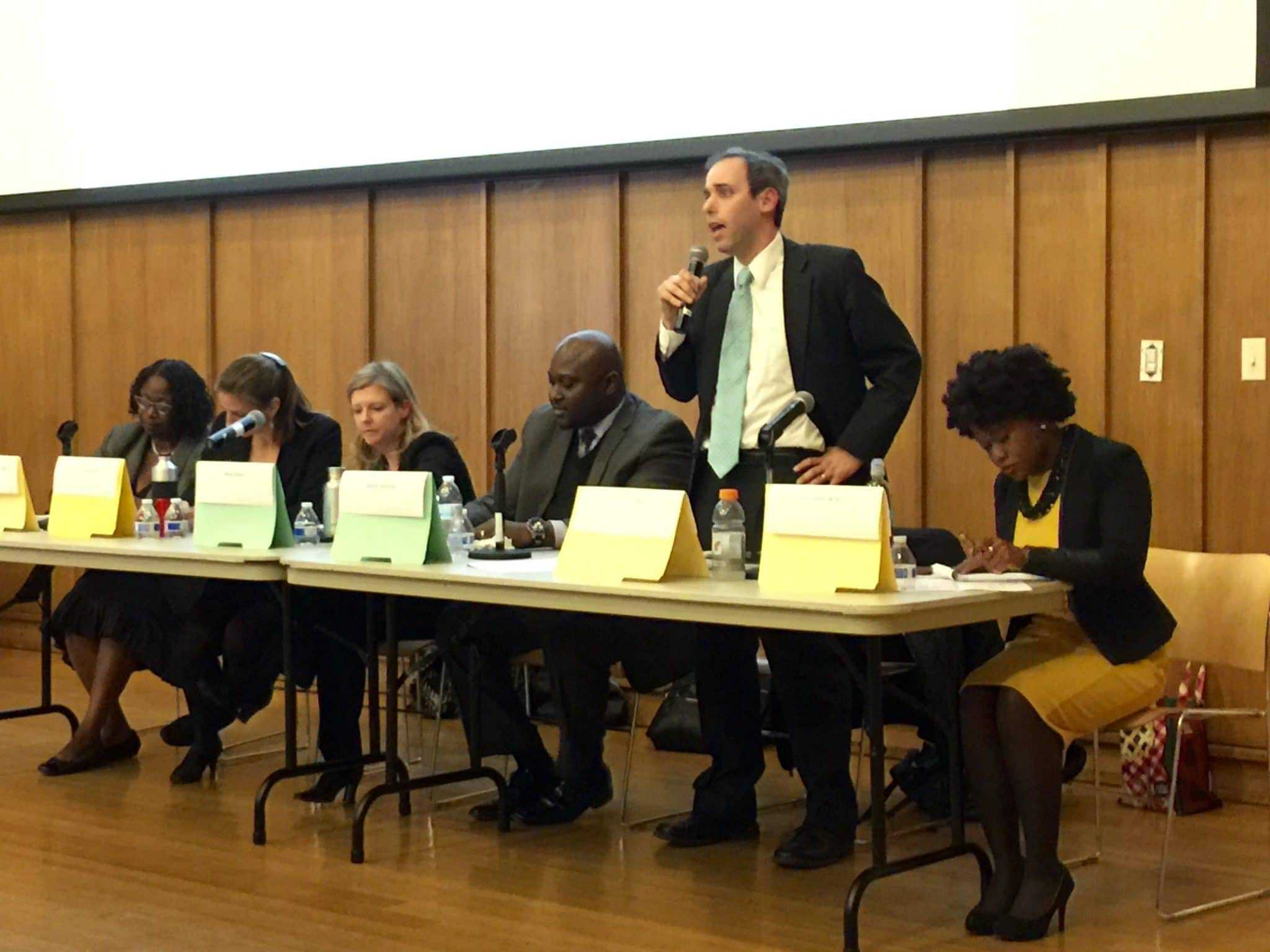 Candidates Focus on Experience, Priorities During District 20 Forum - With little to differentiate each other in terms of policy, candidates for state delegate focused on their priorities, background and experience to try to stand out before a standing-room-only crowd attending a forum Thursday night at the Silver Spring Civic Building.