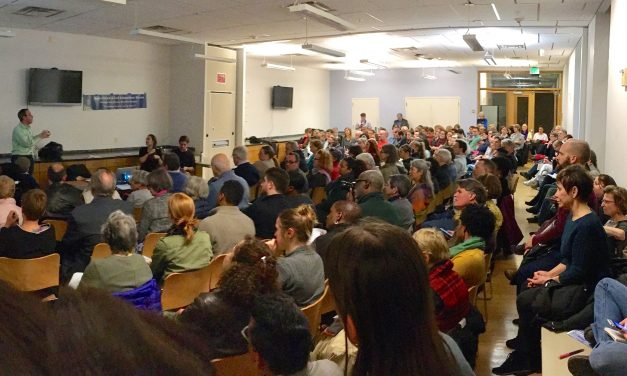 Local ACLU chapter draws large crowd