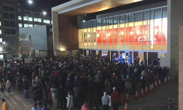 """Hundreds rally in Silver Spring against """"lawless"""" president"""