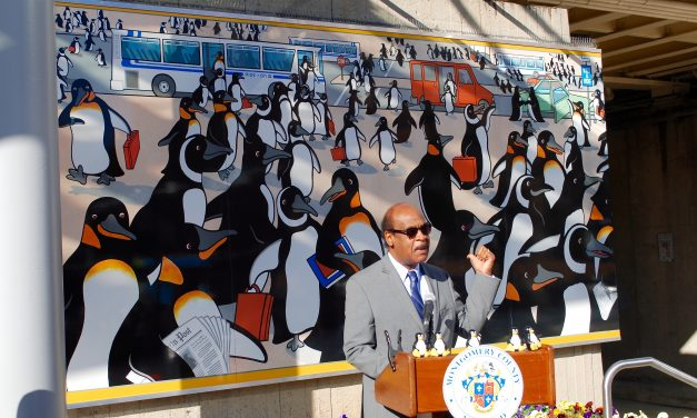 Penguin mural returns to Silver Spring Metro Station