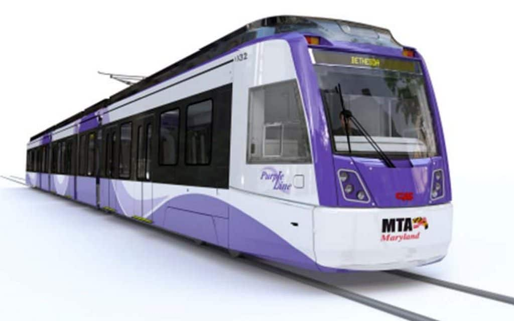 Purple Line work to affect traffic on Wayne Avenue next week