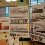 Public art proposals for Purple Line stations shown last night - Residents got the first look at the proposals for public art for the county's Purple Line stations last night during a meeting at Montgomery Blair High School sponsored by the Purple Line Art-in-Transit program.