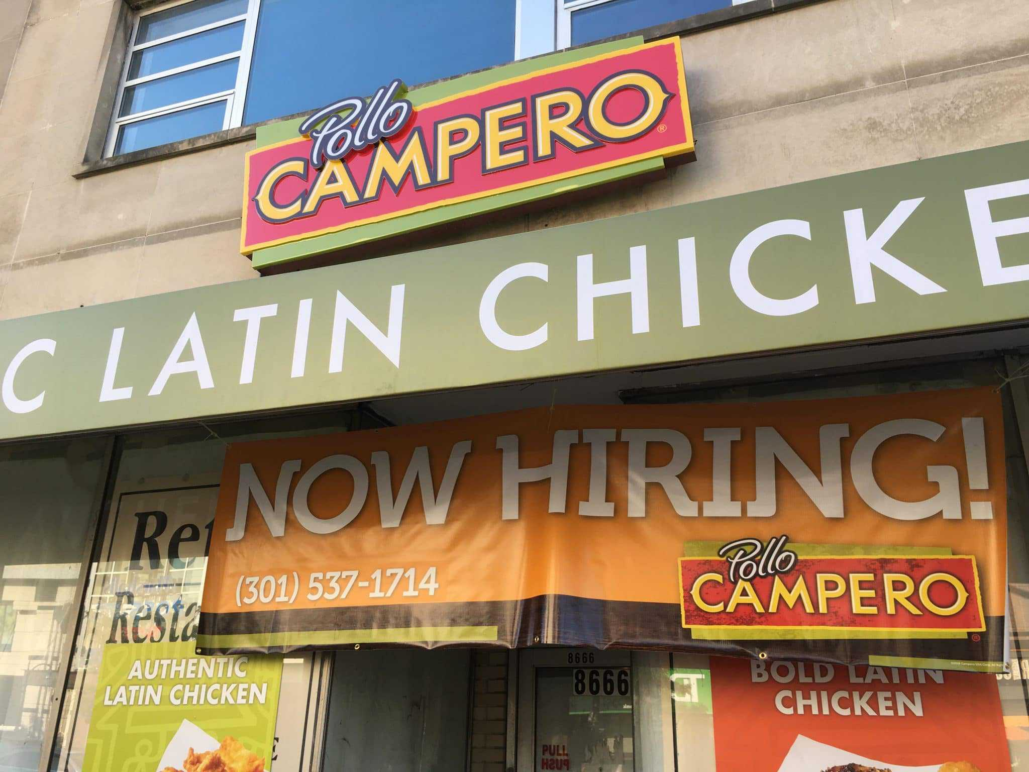 Pollo Campero Now Hiring for its Colesville Road location