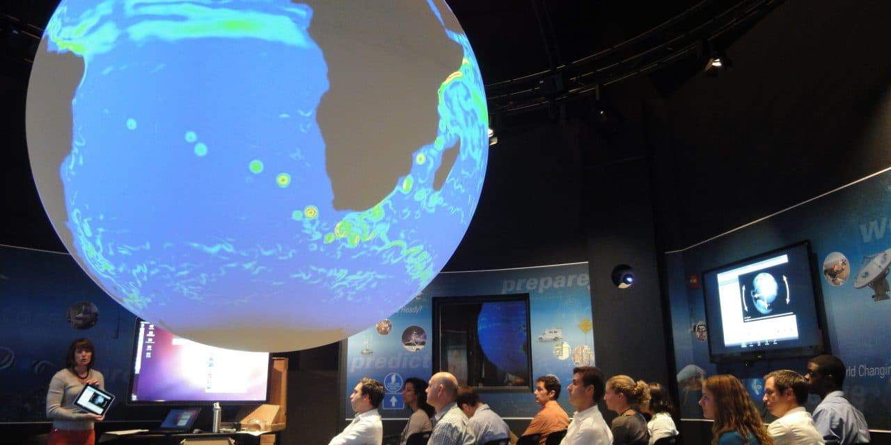 NOAA's Science On a Sphere upgrades to 4K
