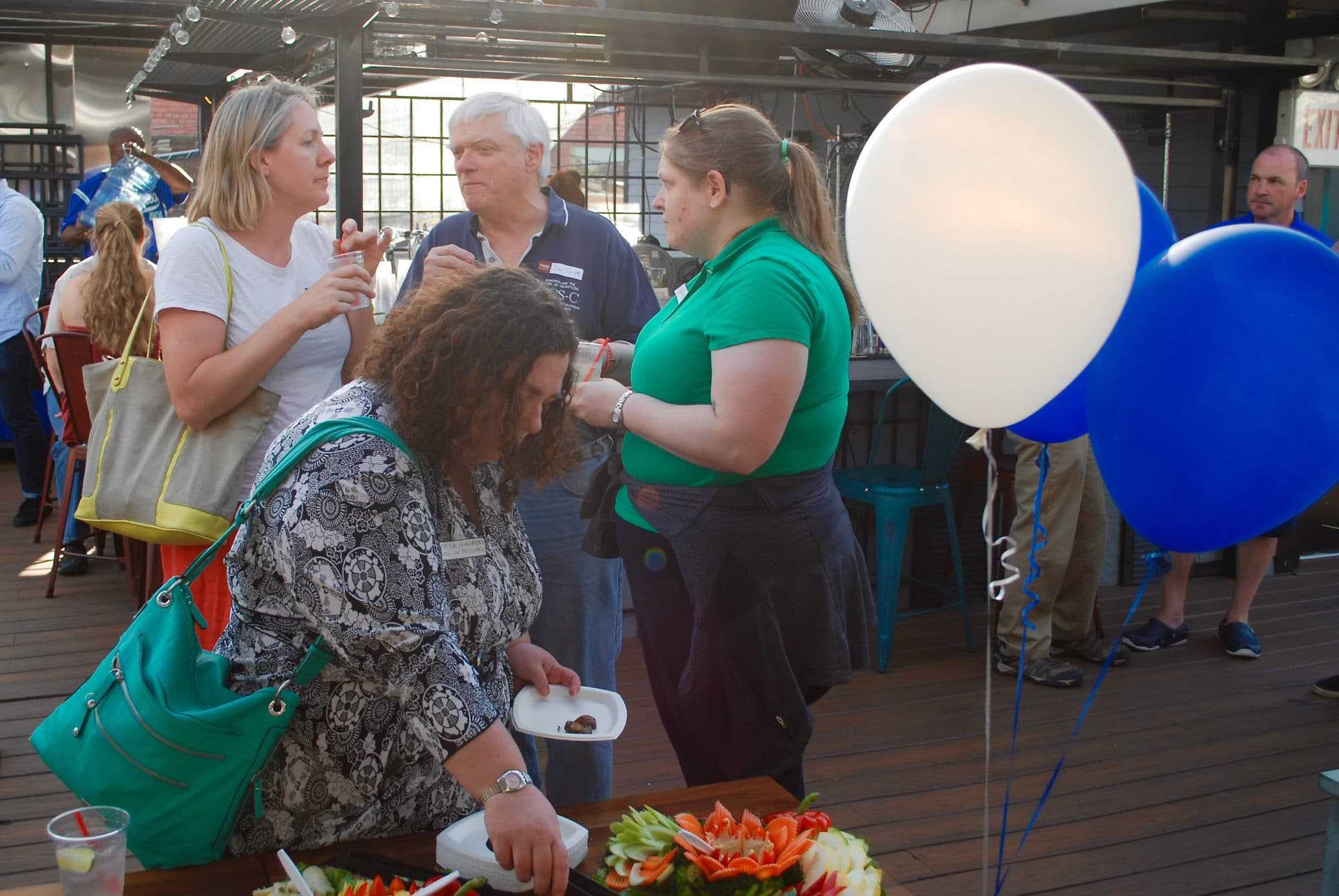New nonprofit Silver Spring Cares officially launched - Silver Spring Cares, a new local nonprofit organization, officially launched yesterday with a party at Kaldi's Social House.
