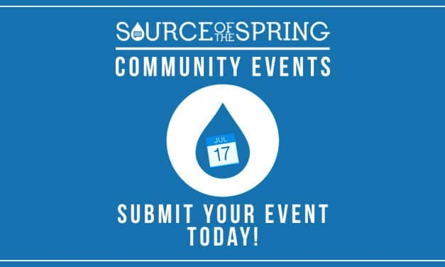 Submit your Local Events to our Community Events Calendar