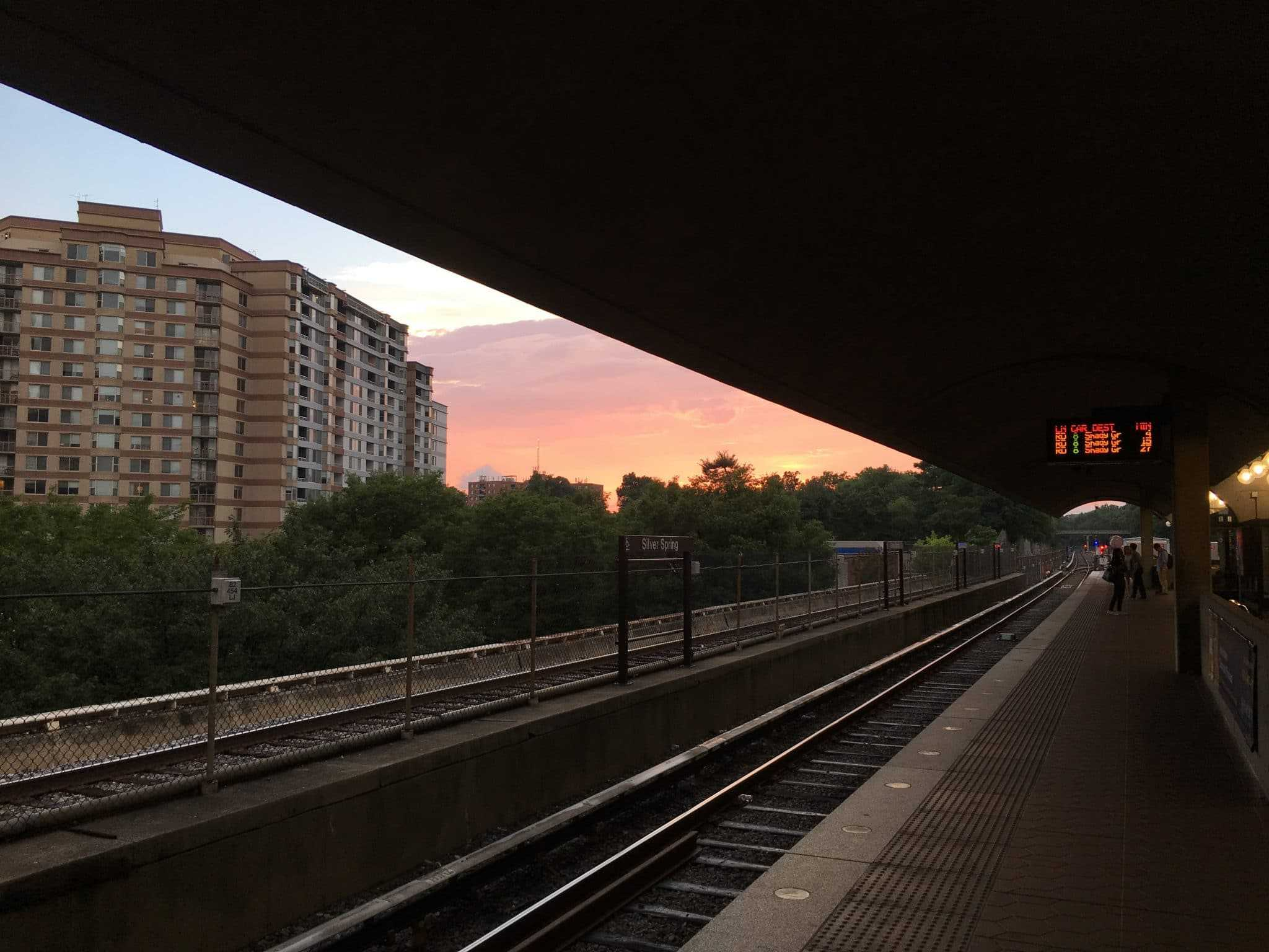 #SourceSunsets: Silver Spring Metro