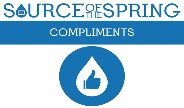 Compliments Friday: Thankful