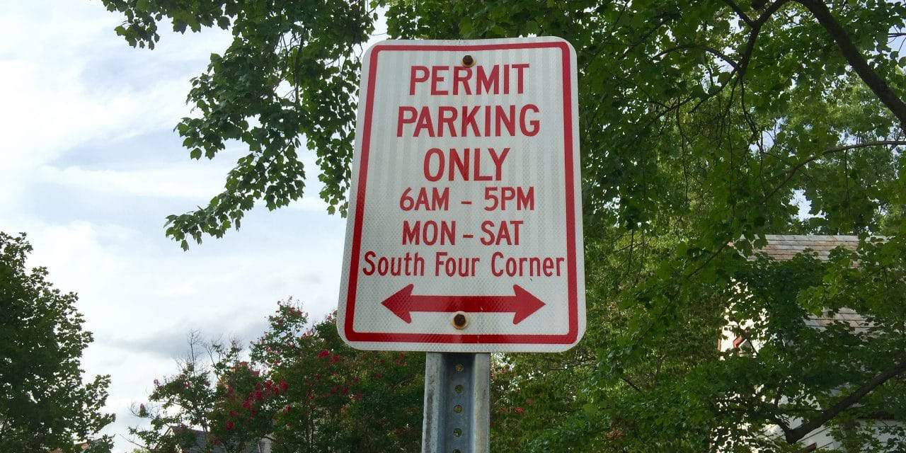 Changes made to residential parking permit system
