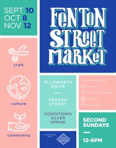 Fenton Street Market returns to Downtown Silver Spring on Sunday