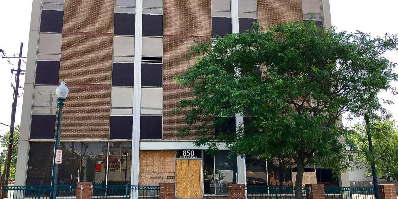 Vacant office building to be converted to apartments, new construction to be added