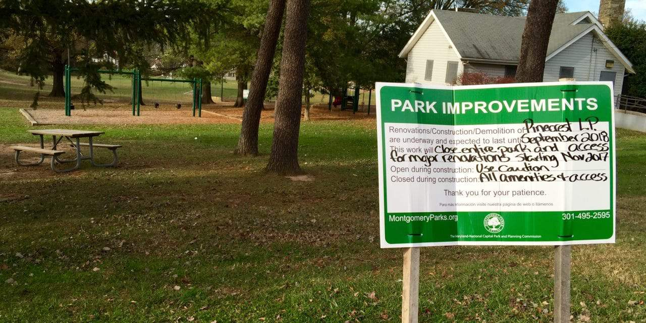Pinecrest Park to close for renovations
