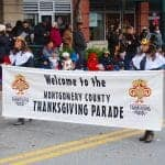 Thanksgiving Parade entertains thousands - On a chilly Saturday, 145 units entertained thousands of attendees as they walked, marched, strutted, danced, drove and rode through downtown Silver Spring for the 20th Annual Montgomery County Thanksgiving Parade.