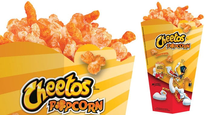 Holiday news: Cheetos popcorn goes national in theaters