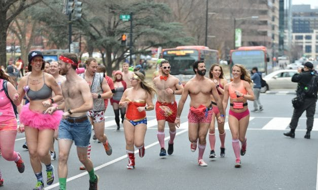 Snowmageddon turned into a blessing for first Cupid's Undie Run