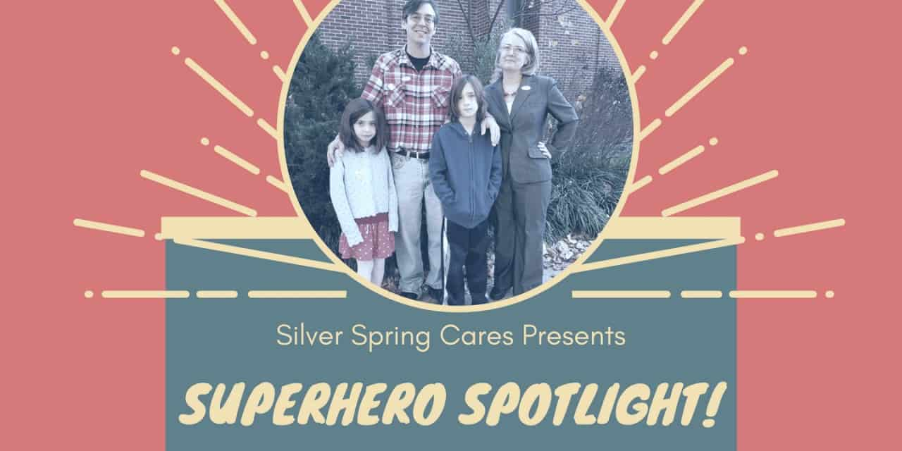 Silver Spring Cares Superhero: Chris Richardson