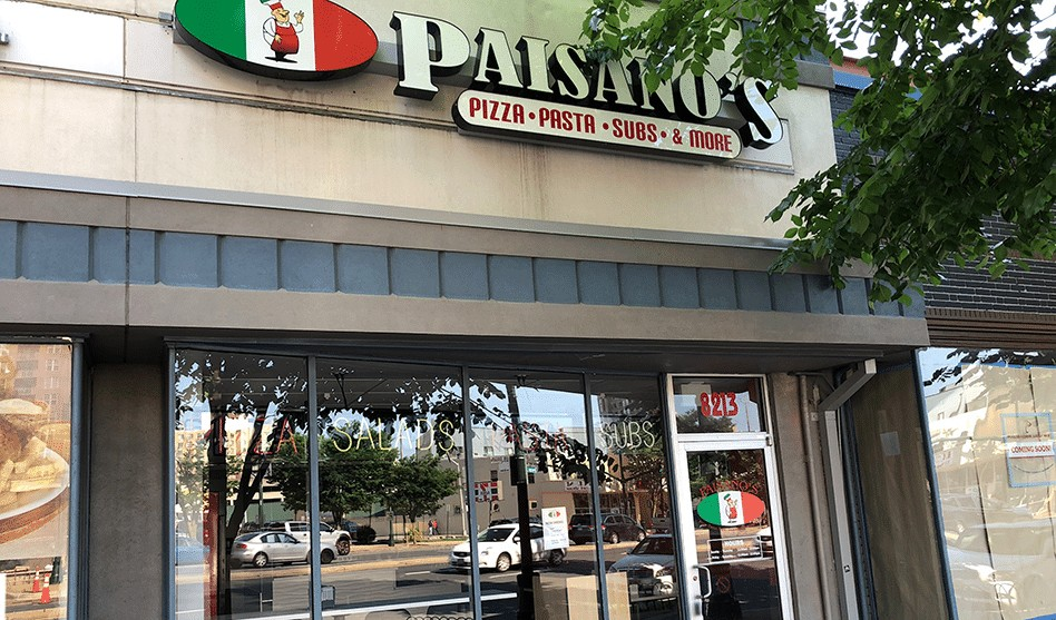 Paisano's Pizza Opening Today in Silver Spring