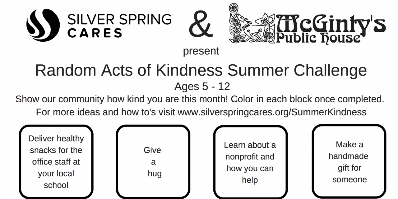 Children Invited to Take Kindness Challenge This Month