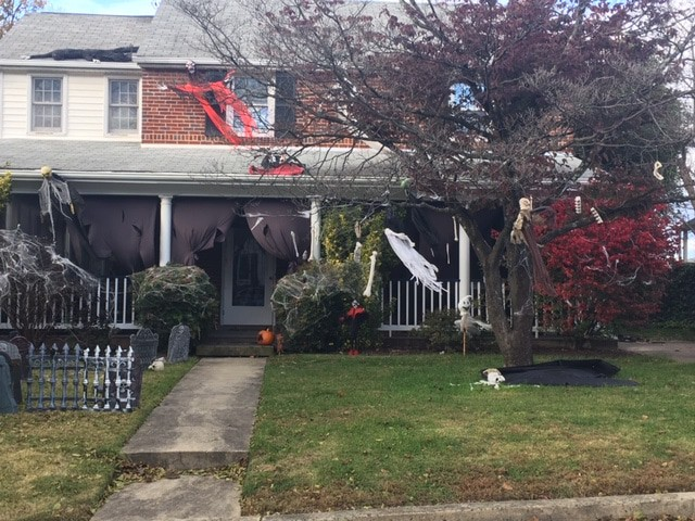 The Most Halloween Block in Silver Spring? - Is this the Halloween-est block of homes in Silver Spring?