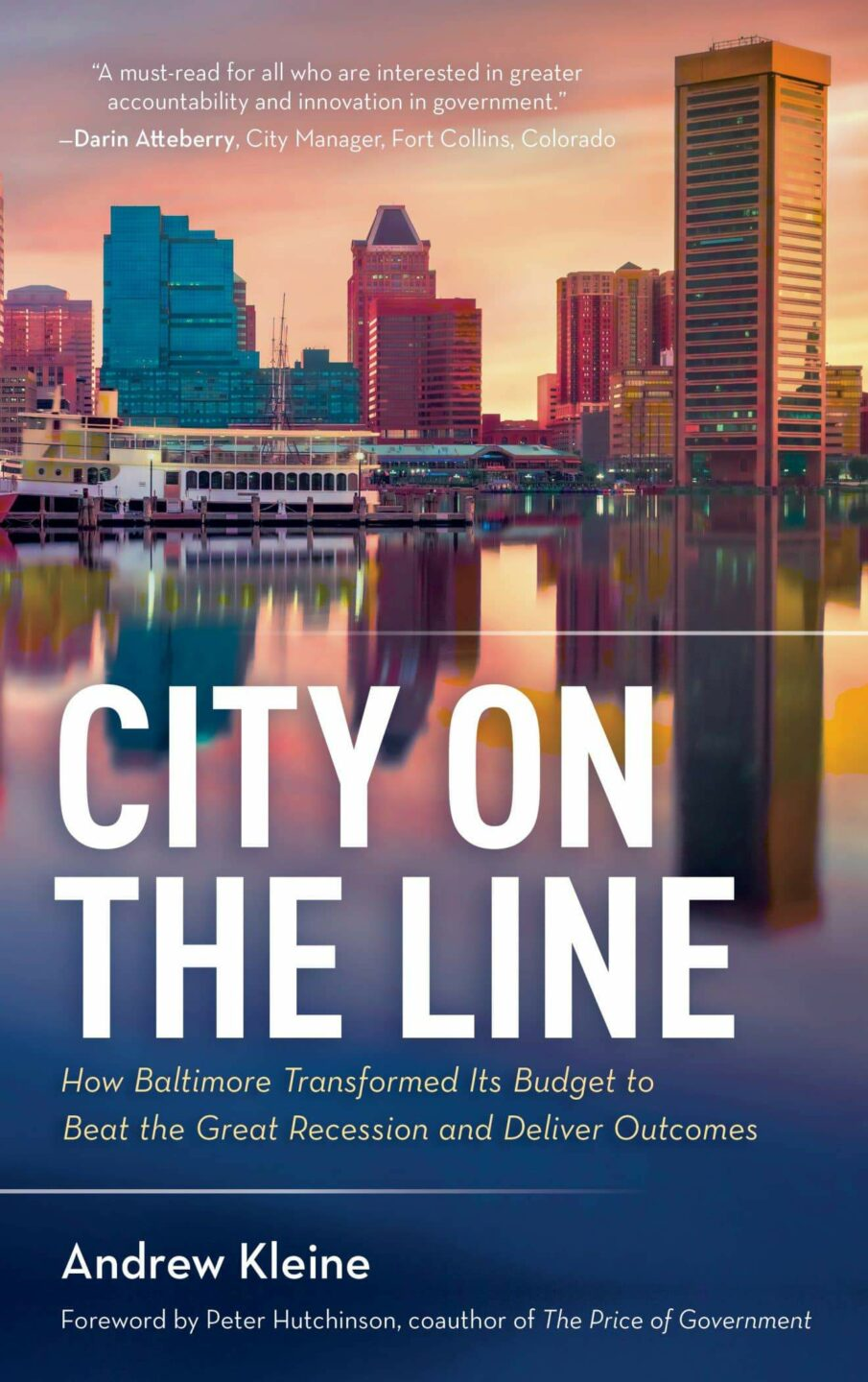 Local Author Writes Book on Changing Government Budgets