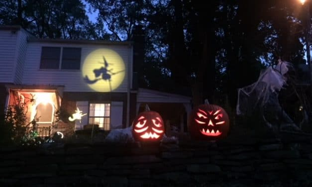 Halloween Hauntings Around the Neighborhoods