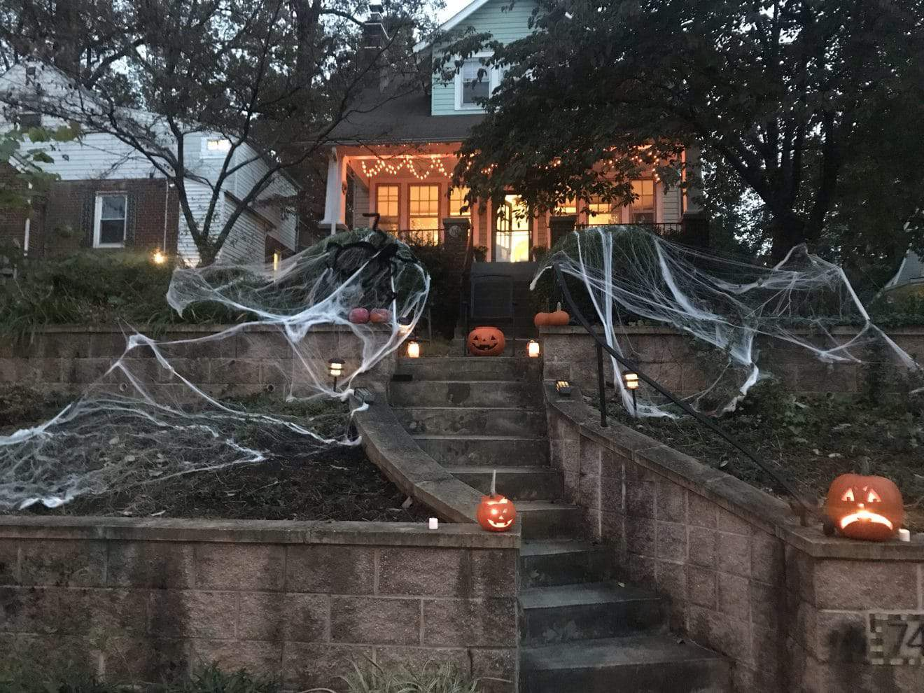 Halloween Hauntings Around the Neighborhoods - Several residents sent additional photos of homes decorated for Halloween.