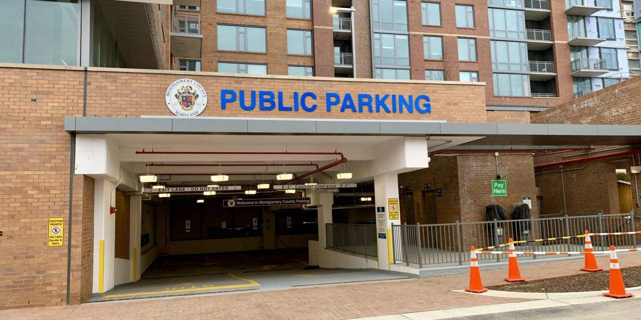 Thayer-Spring Public Parking Garage Now Open