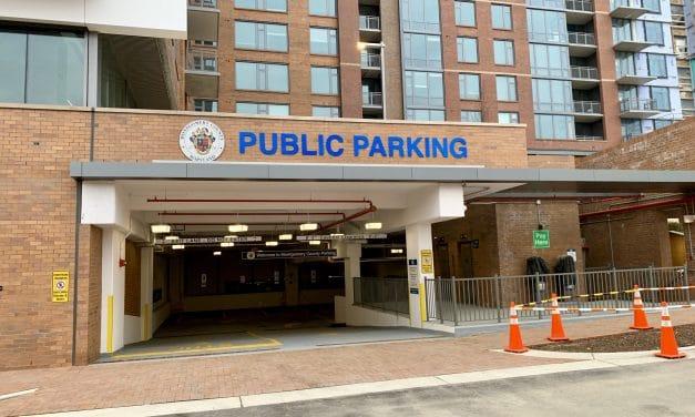 Thayer-Spring Public Parking Garage Now Open