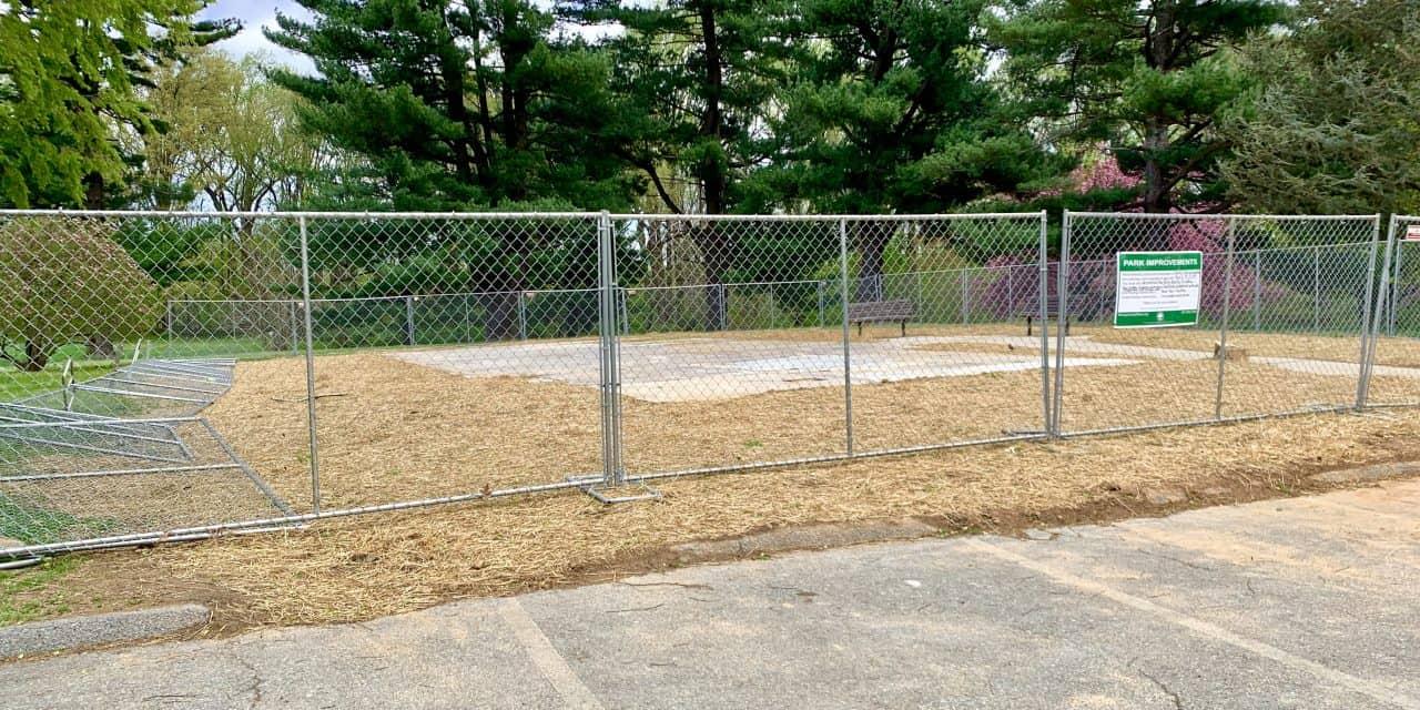 Nolte Park Activity Building Gone; Community Garden Planned