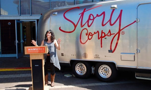 StoryCorps Parks Mobile Studio on Veterans Plaza; Booking Appointments Now