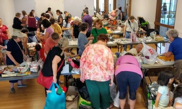 Timebank Holds Crafts, Sewing Swap; CREATE Arts Also Benefits