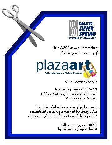 Plaza Grand Reopening Ribbon Cutting