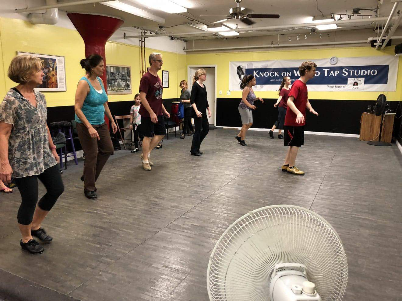 Intro to Tap 6 and 7 week sessions at Knock On Wood Tap Studio