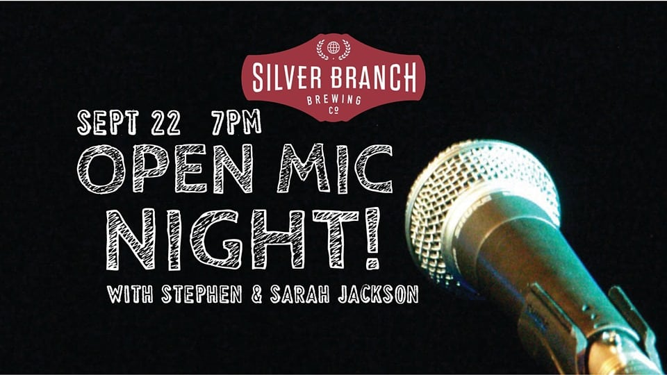 Open Mic Night at Silver Branch