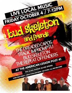 Bud Skeleton & Friends - Live Local Music