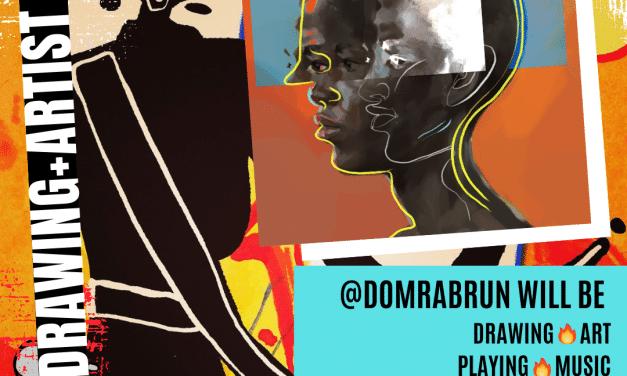 FREE Live Drawing + Artist Talk with Dom Rabrun