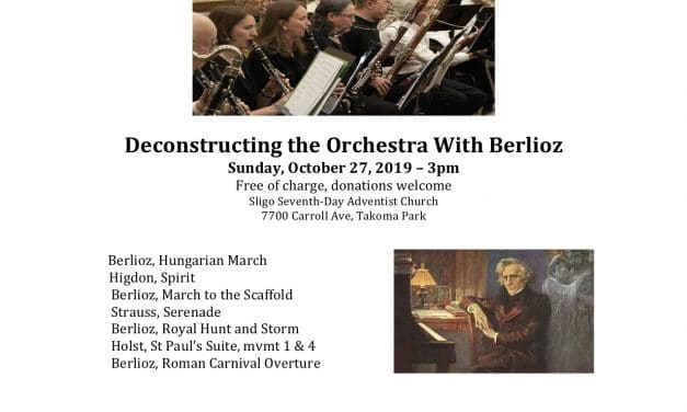 Montgomery Symphony Orchestra: Deconstructing the Orchestra with Berlioz