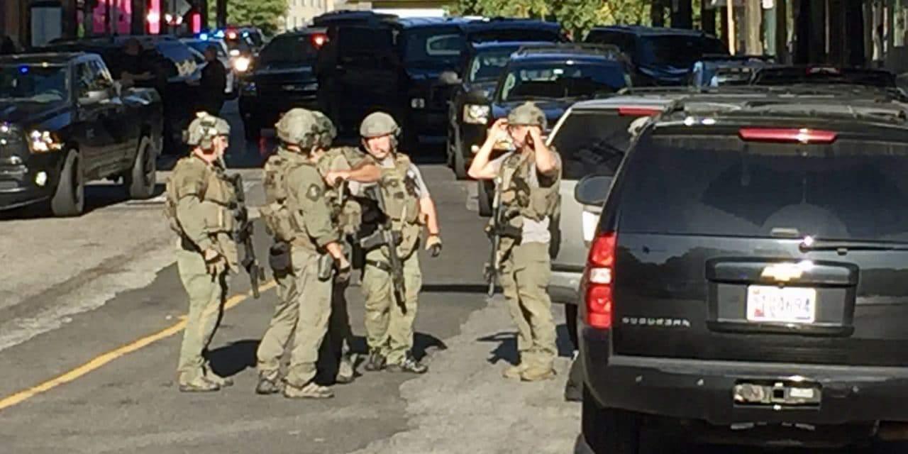 Police Officer Shot in Downtown Garage