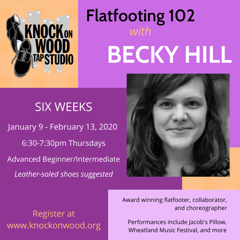 6 Week Flatfooting Series with Becky Hill