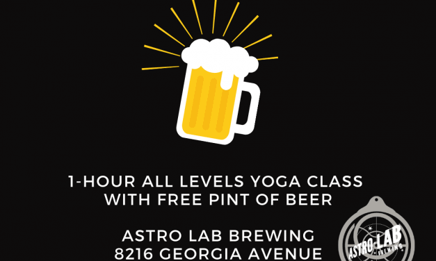 Yoga & Beer at Astro Lab