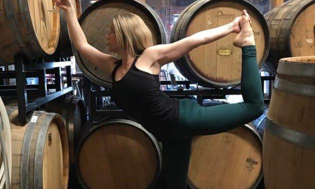 Vino Vinyasa: Wine and Yoga