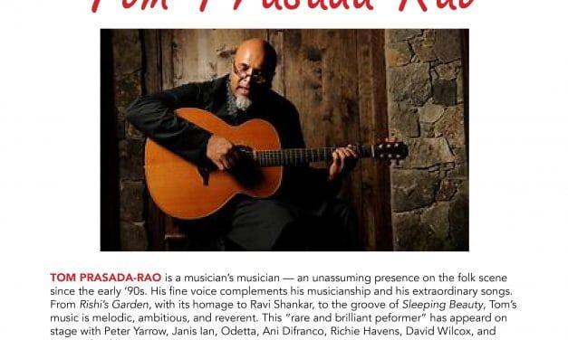 Tom Prasada-Rao Valentine's Day Concert