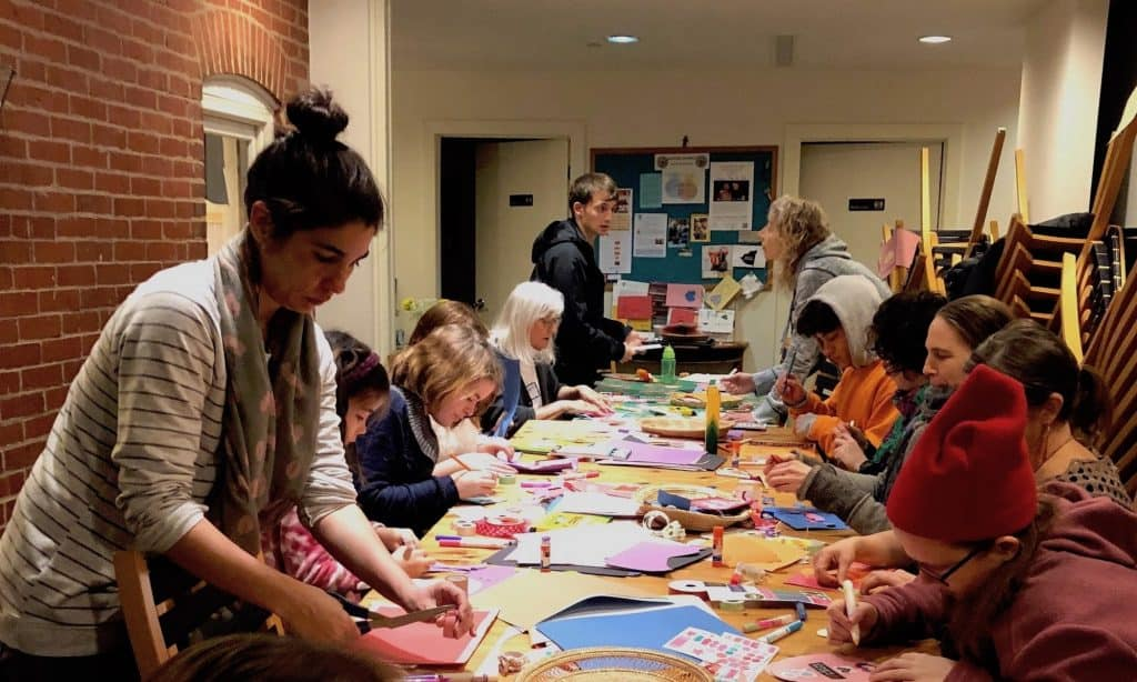 Collage Ornaments Workshop for Adults & Children