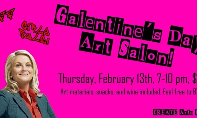 Galentine's Day: Art Salon